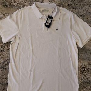 New Vineyard Vines Men's Stretch Pique Polo Shirt